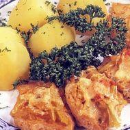 Sójové plátky v sýrovém těstíčku recept