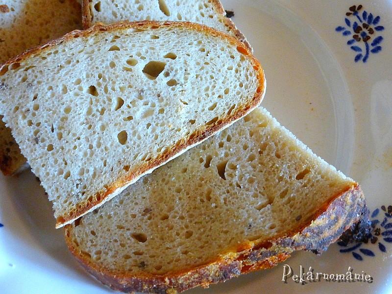 Kváskový chleba se semolou recept