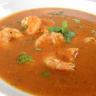 Ostrá krevetová polévka recept