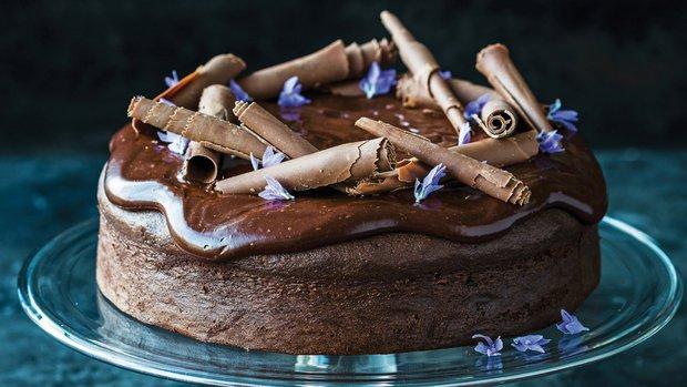 Delikátní čokoládový dort