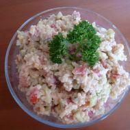 Rýžový salát s vejci recept