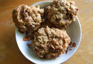 Cookies z ovesných vloček