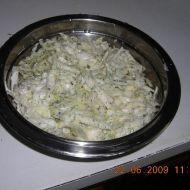 Zelný salát s koprem recept