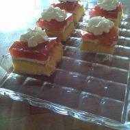 Ovocný bezlepkový koláč recept