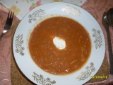 Ukrajinský boršč recept