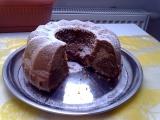 Hrníčková bábovka s malinovou marmeládou recept