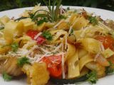 Nudle s pečenou zeleninou recept