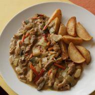 Kuřecí maso po thajsku se zeleninou recept