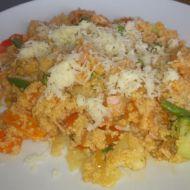 Kuskus s uzeninou, zeleninou a parmazánem recept