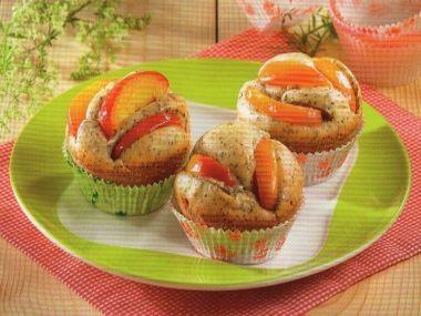 Muffiny s mákem a meruňkami