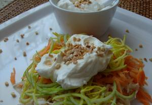Mrkvovo-celerový salát