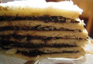 Vinetarta  islandský vánoční dort