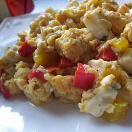 Míchaná vejce s nivou recept