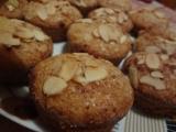 Cuketové muffiny s mandlemi recept