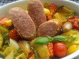 Pečené Taliány s grilovanou zeleninou recept