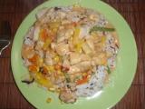 Kuřecí směs na thajské omáčce recept