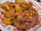 Kuře z rajské zahrádky recept