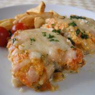 Zapečené rybí filé se zeleninou recept