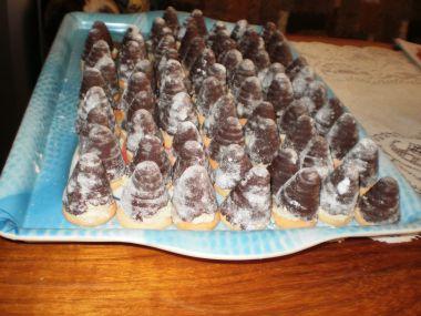 Vánoční vosí hnízda