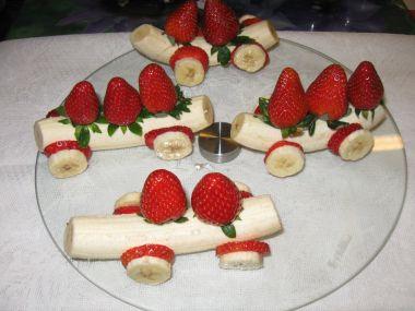 Banánové autíčka