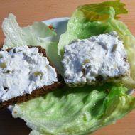 Dietní tvarohovo-česneková pomazánka recept