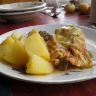 Kari omelety s masem recept