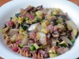 Zeleninová směska s žampiony a celozrnnými těstovinami recept ...
