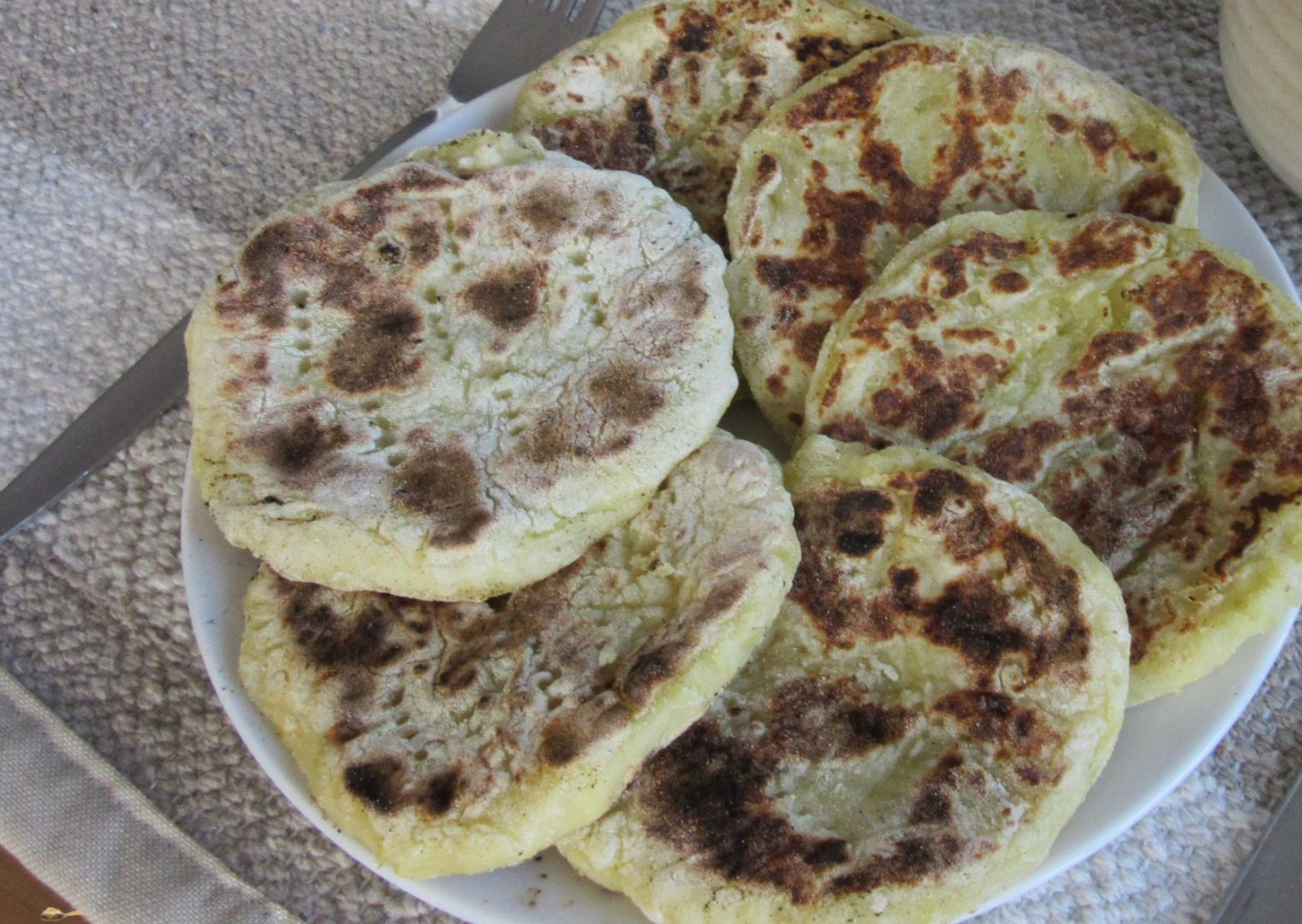 Bramborové placky z vařených brambor recept