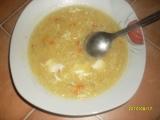 Slepičí polévka s krupičkou recept