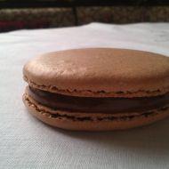 Čokoládové makronky  Macarons au chocolat recept