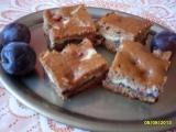 Nekynutý koláč se švestkami a tvarohem recept