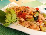 Špagety s tofu omáčkou recept