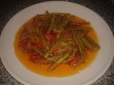 Turecká kuchyně  Fazolové lusky na olivovém oleji recept ...