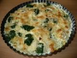 Zapékané brambory se špenátem recept