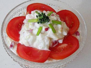 Rybí salát  dia 7,6 S