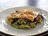 Lasagne s houbami, kapustou a bešamelem recept