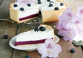 Borůvkový koláč se smetanovým krémem recept