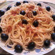 Špagety s masovou směsí recept