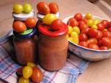Česnekovo-rajčatová směs bez konzervace recept