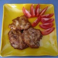 Pálivé kuřecí placičky recept