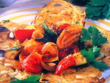 Špagetové placky se zeleninou