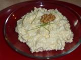Sýrová pomazánka s míchanými vajíčky recept
