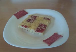 Slaný koláč s brynzou