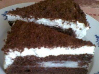 Kokosový dort  výborný a snadný