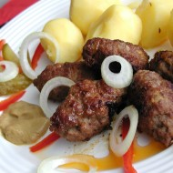 Šišky z mletého masa  čevapčiči recept