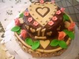 Ořechový dort II. k jedenáctinám recept