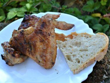 Grilované kukuřičné kuře