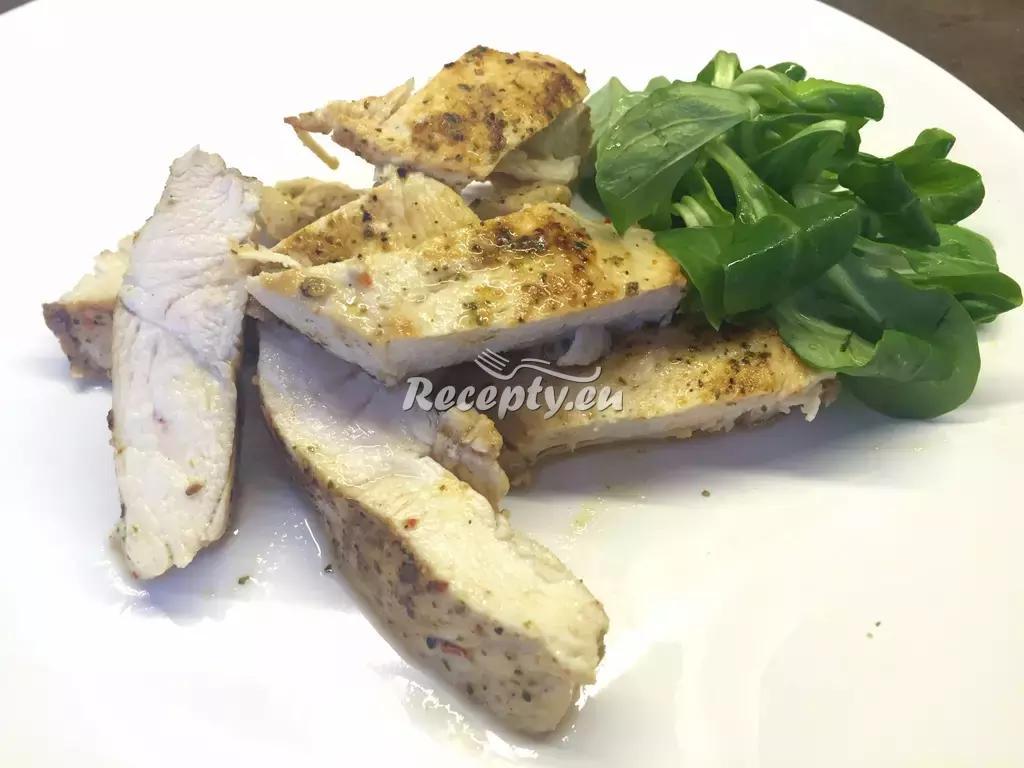Kuřecí plátek s polníčkem recept  drůbeží maso