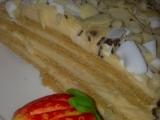 Medové řezy s karamelovým krémem recept