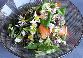 Luční salát recept